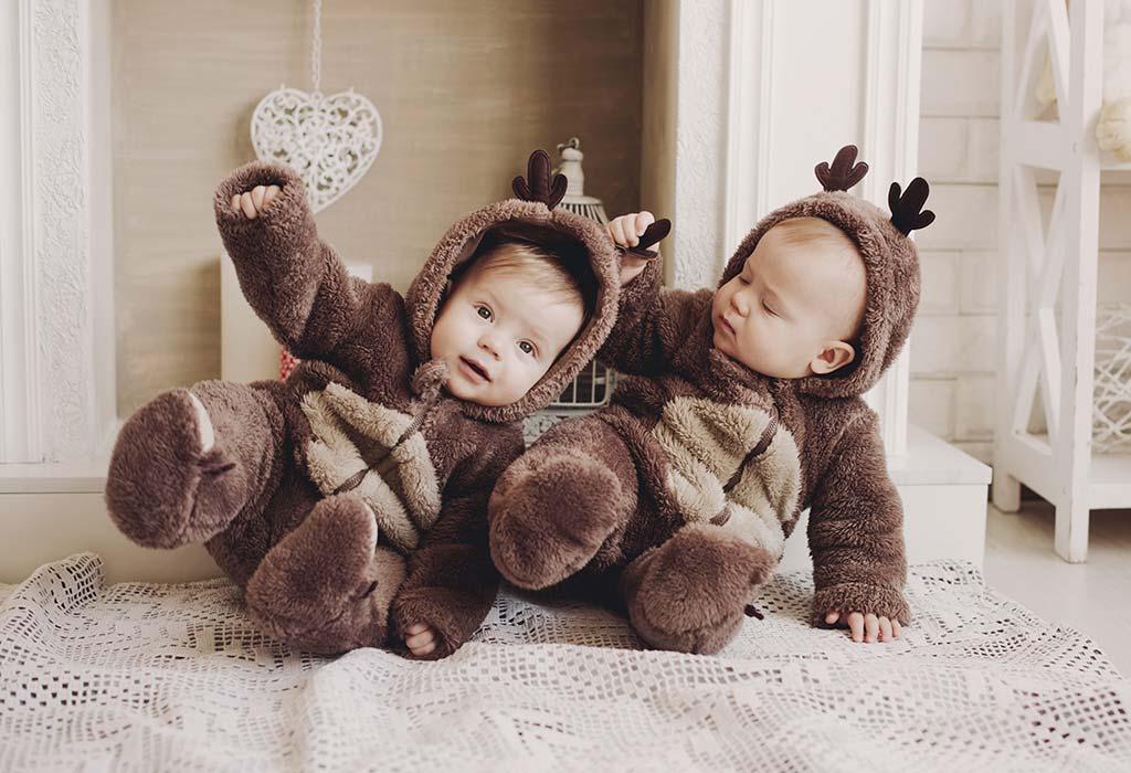Halloween-Kostümideen für Zwillingsbabys