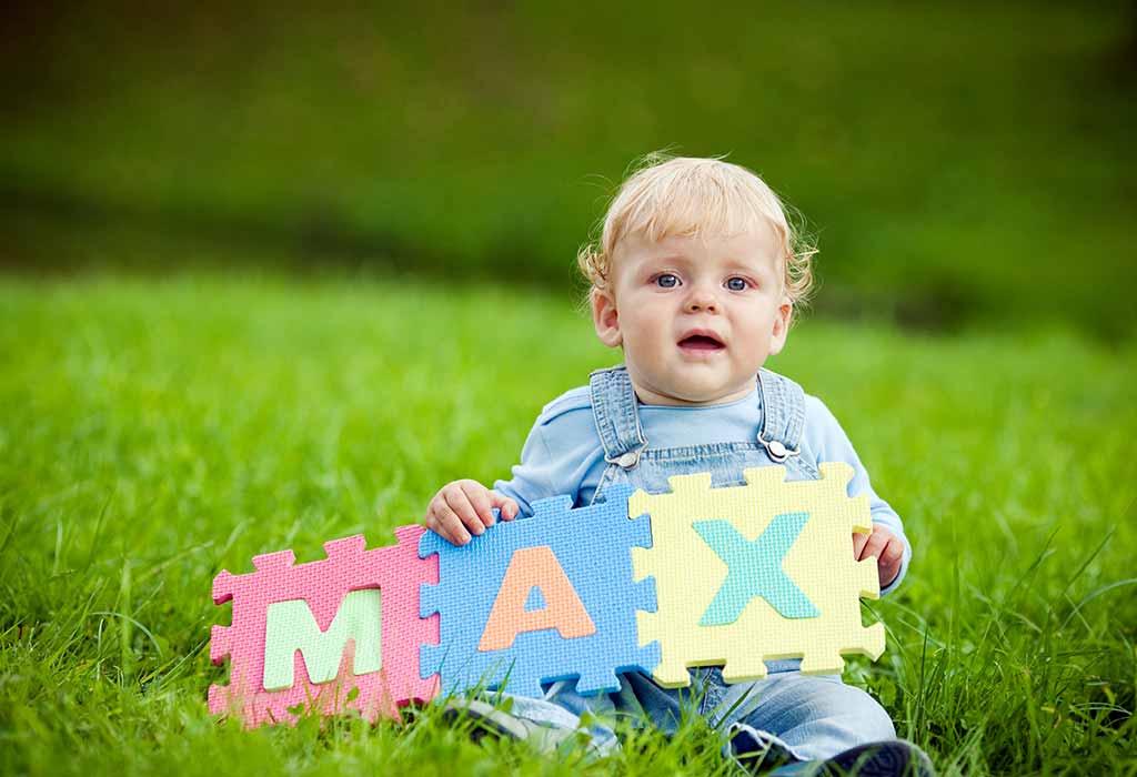 100 einsilbige Babynamen für Jungen