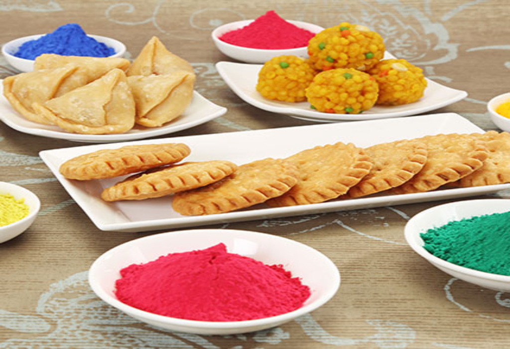 Spezielle Holi-Rezepte für Kinder