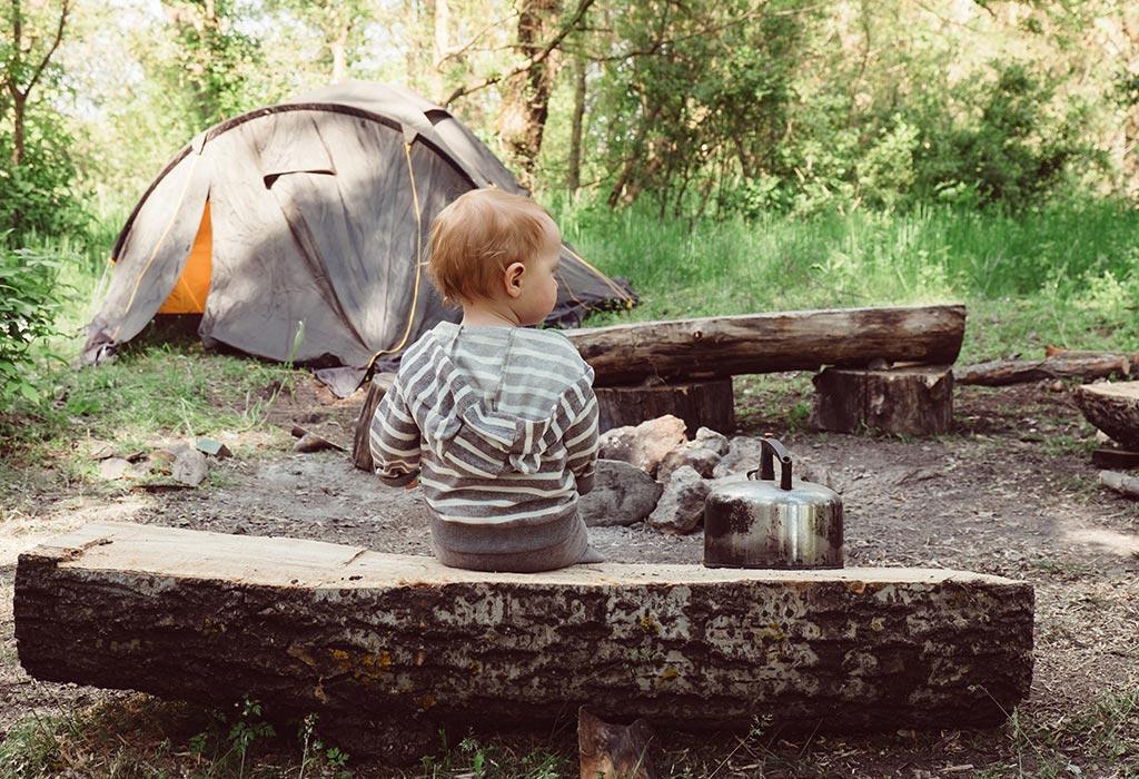 12 nützliche Tipps für Camping mit Baby