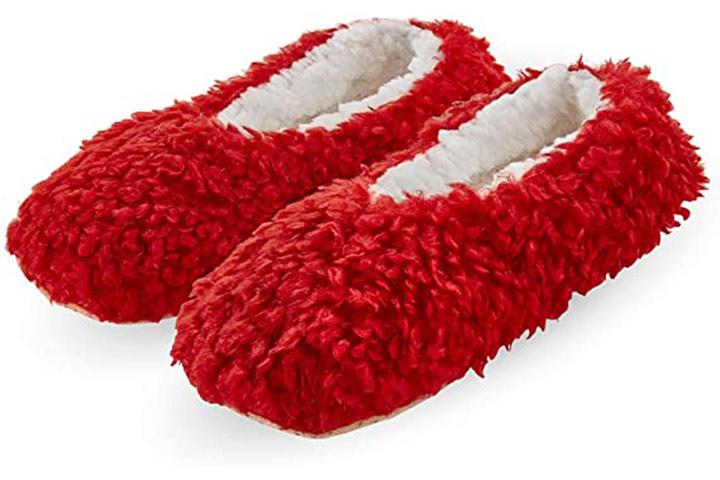 Flauschiger Schuh für Frauen HUE