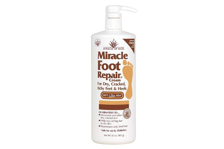 Wunderbare Creme zur Reparatur der Füße