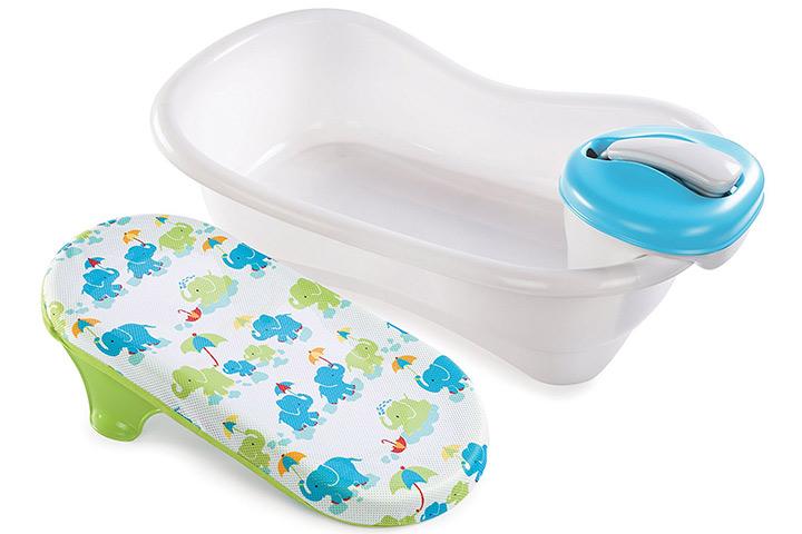 Sommerbadewanne und Dusche für Babys und Kleinkinder