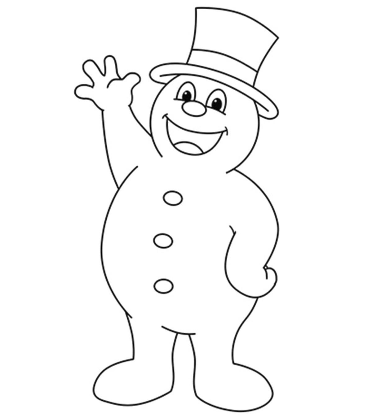 Frosty der Schneemann