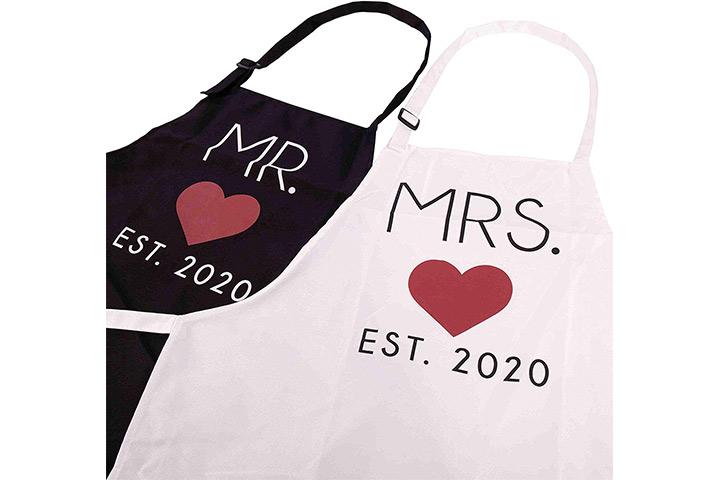 GSM Brands Herr und Frau 2020 Paare Küchenschürzen