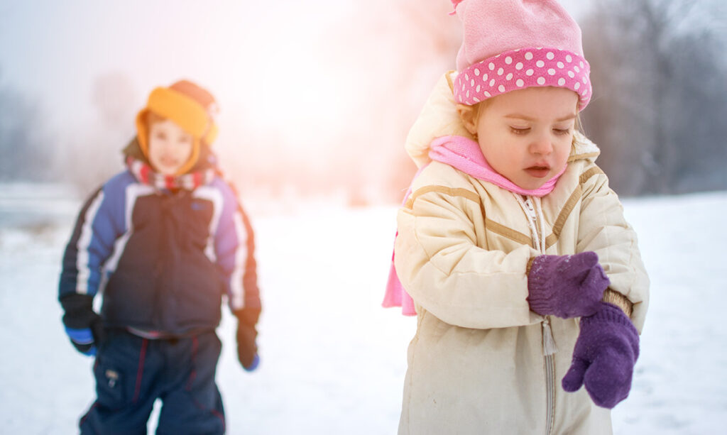 Was sind einige sensorische Winterstrategien?
