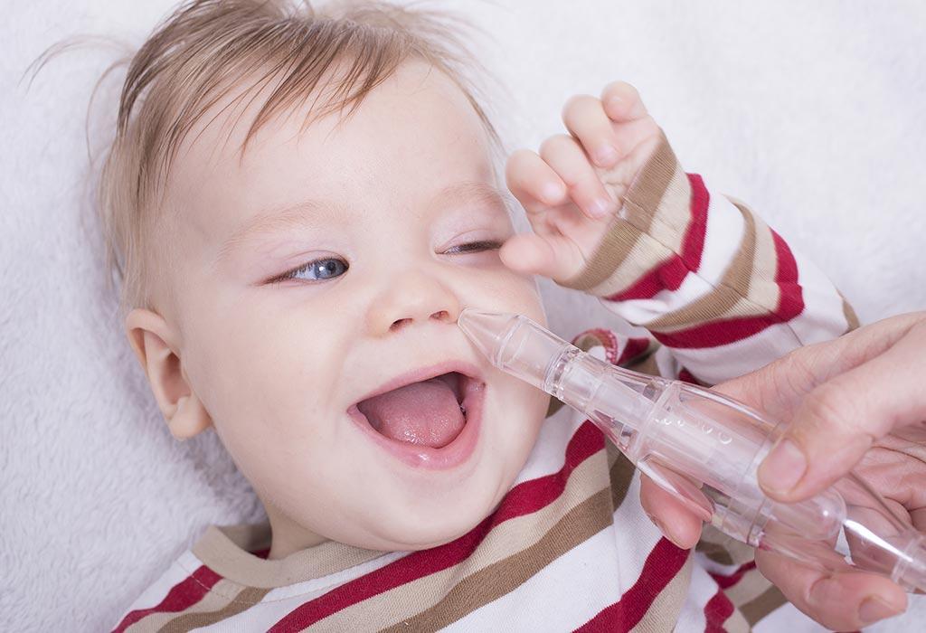 Sinusitis bei Babys