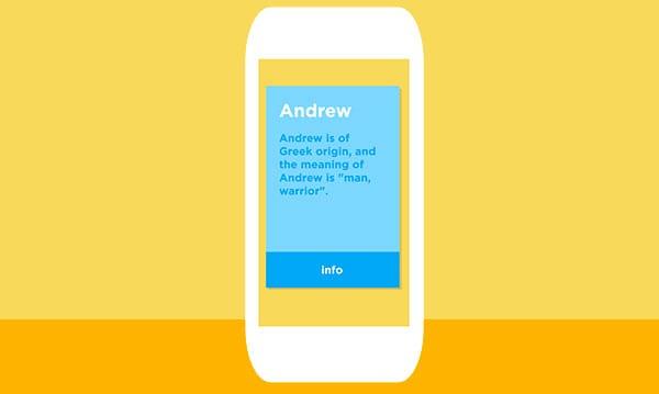 Babyname App ist Zunder für Babynamen
