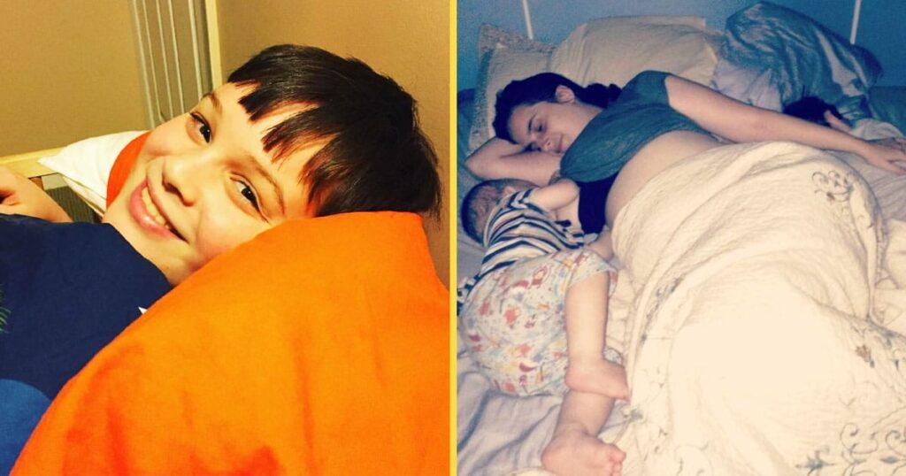 Co-Sleeping hat in unserer Familie keine Altersgrenze