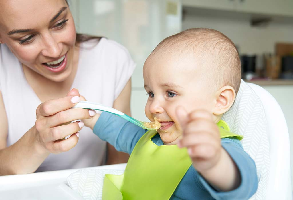 8 Monate 3 Wochen alte Babynahrungstabelle