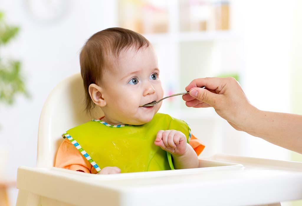 7 Monate 4 Wochen alte Babynahrungstabelle