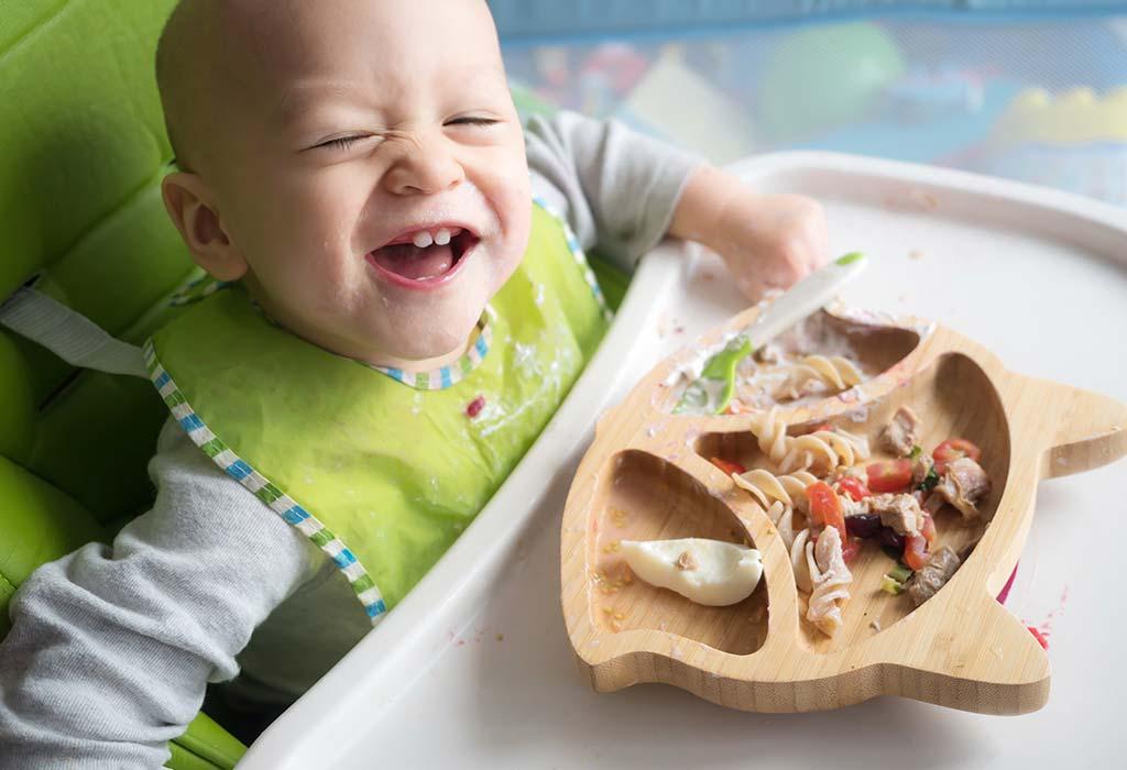 11 Monate 2 Wochen alte Babynahrungstabelle