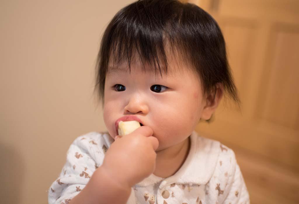 11 Monate 4 Wochen alte Babynahrungstabelle