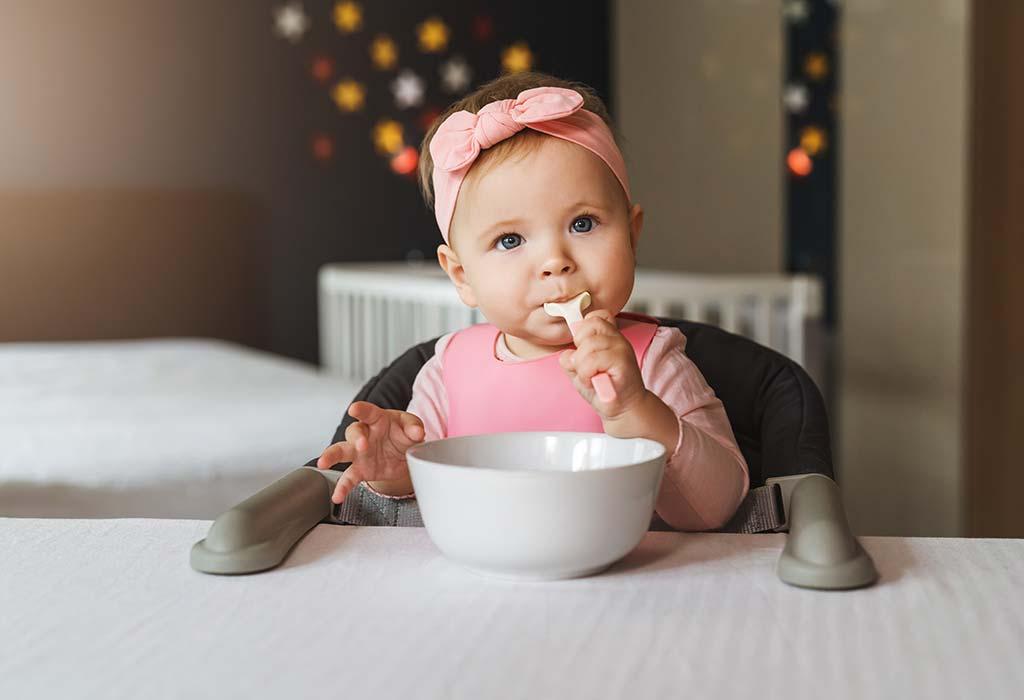 9 Monate 4 Wochen alte Babynahrungstabelle