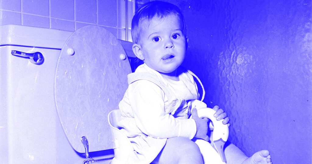 """Die meisten Kinder müssen nicht """"geschult"""" werden, um die Toilette zu benutzen"""