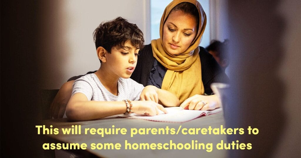Eine schnelle, von Lehrern erstellte Anleitung, um Ihre Kinder vorübergehend zu Hause zu unterrichten