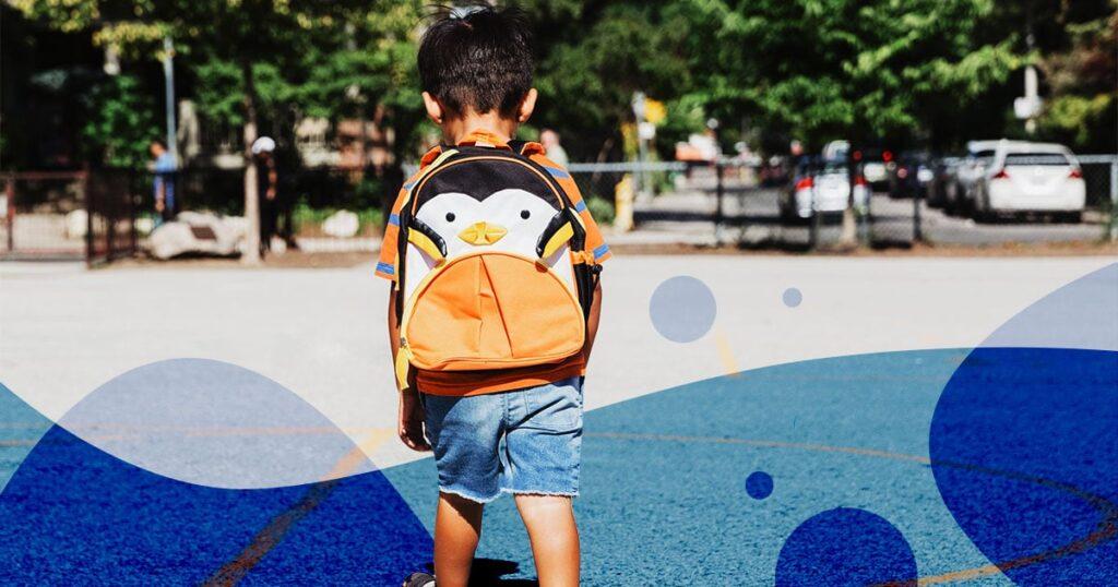 Einige Kinder trauern, weil sie sich nicht von ihren Lehrern verabschieden konnten