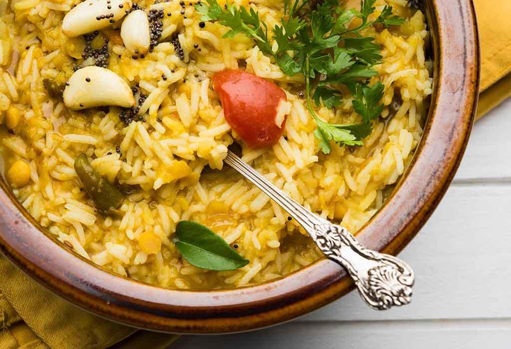 Gemüse Khichdi Rezept