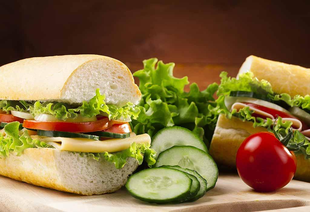 Gesunde und leckere Ideen für ein kaltes Mittagessen für Kinder