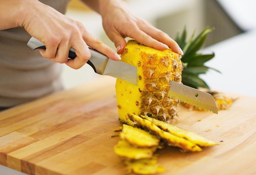 Ist das Essen von Ananas während des Stillens sicher?