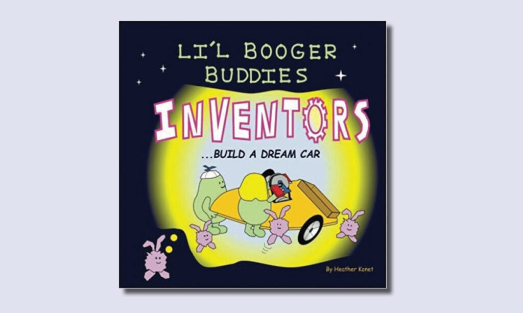 Los libros de Li'l Booger Buddies de Engineer Mom hacen que STEM sea divertido