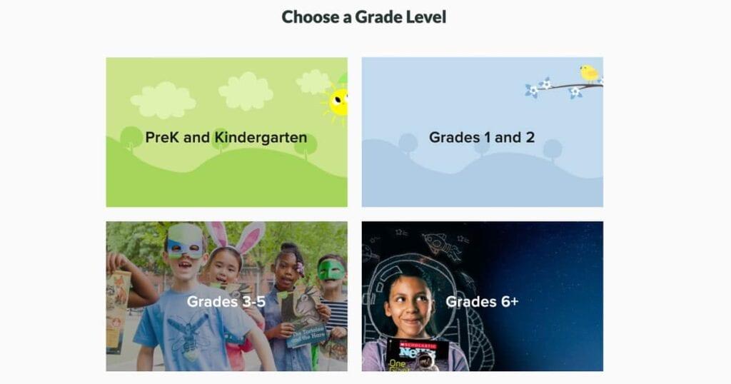 Scholastic bietet kostenlose Aktivitäten zum Lernen zu Hause für Grundschulkinder