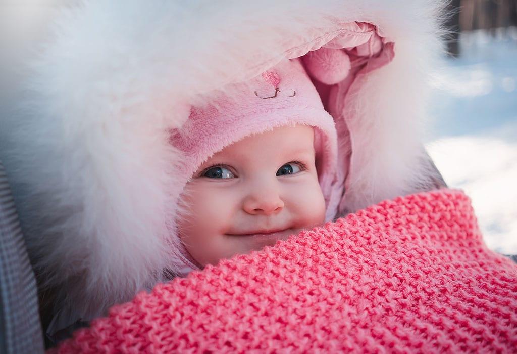 Wie man das Baby im Winter warm hält - Tipps und Tricks