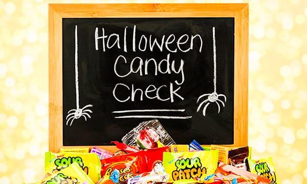 So überprüfen Sie, ob Ihre Kinder Halloween Candy sicher ist