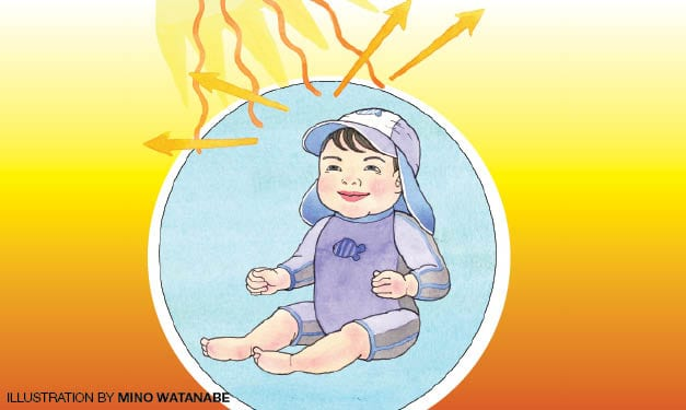 Tips for Protecting Baby from Sunburns