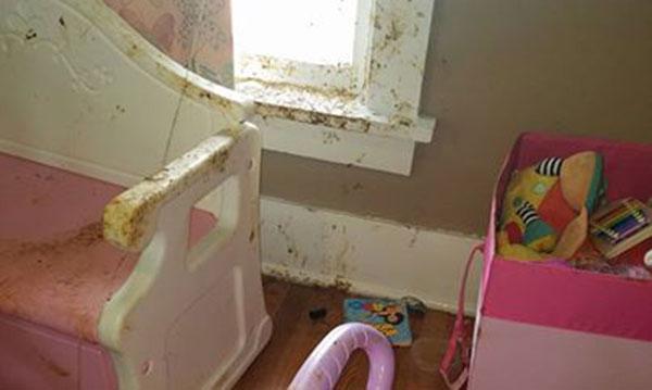 Epic Diaper Blowout für Kleinkindmädchen, wie es von einem verrückten Vater erzählt wurde
