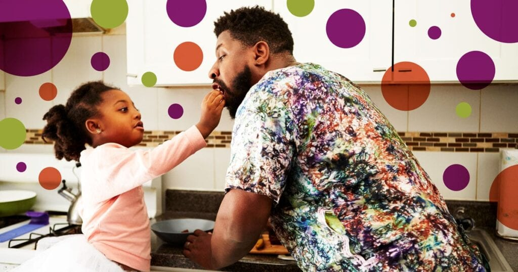 Versuchen Sie es mit Ihrem Kind, anstatt zu streiten und zu schreien