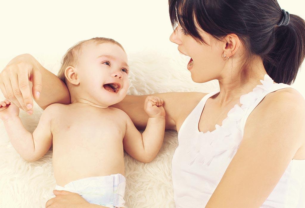 Wann und wie erkennen Babys ihren Namen?